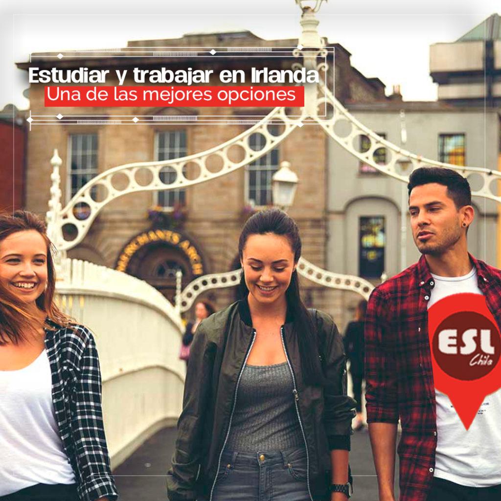 Chilenos: Estudiar y trabajar en Irlanda